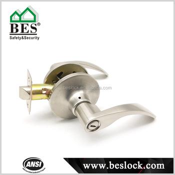Europa Tubular Door Lock Keyless Bathroom Door Handle Lock Buy - Bathroom door locks and handles