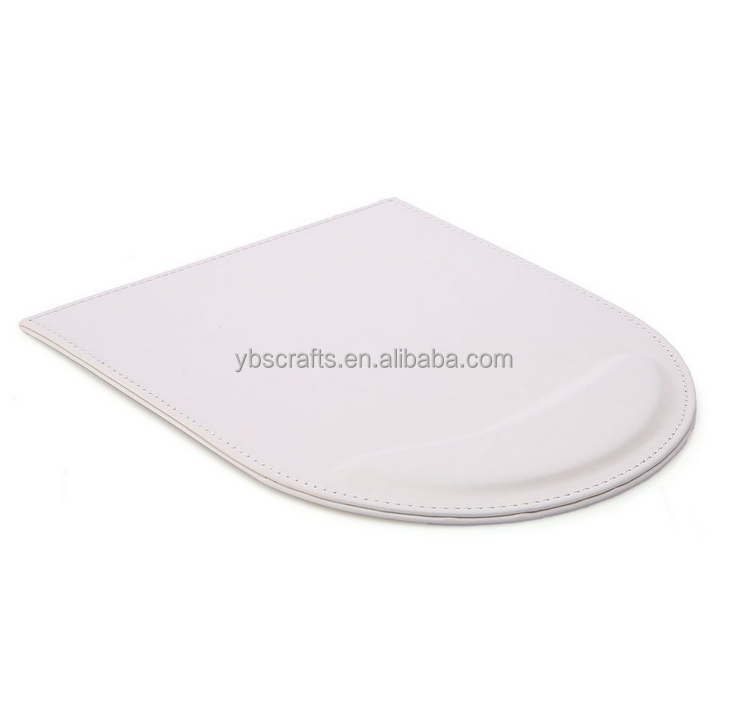Customized light color leather mouse pads promotional gift multi-colored options