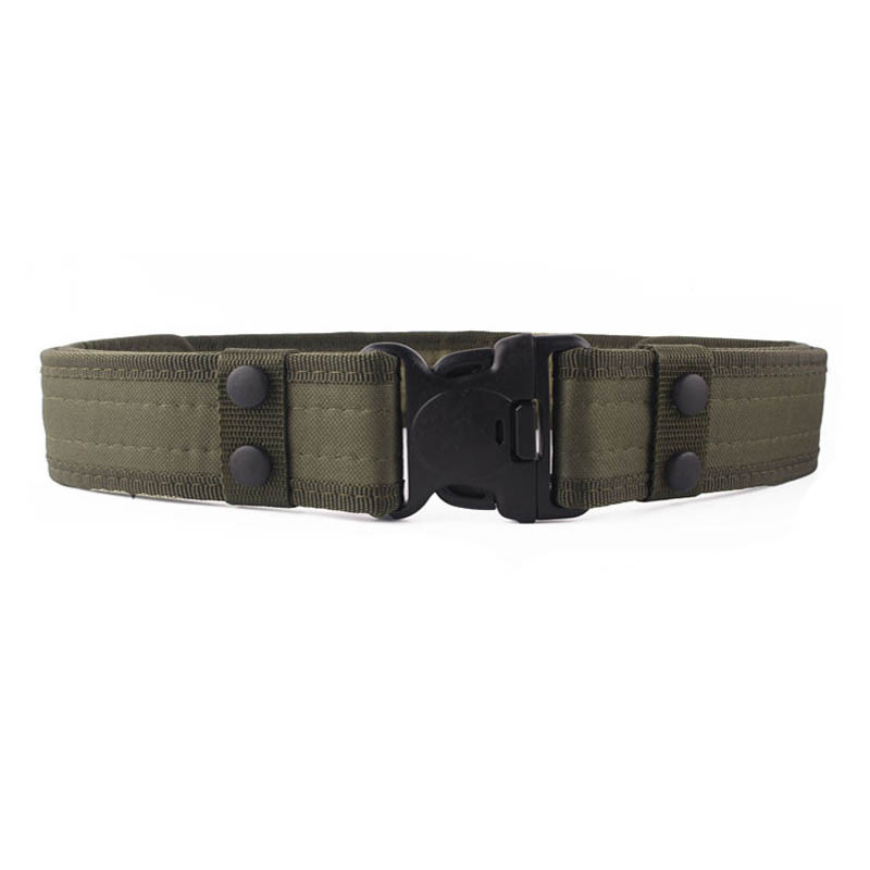 Tactical combat survival military waist belt