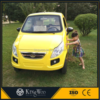 Economy is applicable the electric mini car