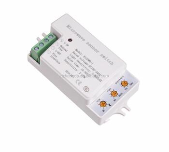2018 New Microwave Wall Sensor Switch Modern Lighting