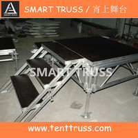 Aluminum Plywood Mobile Stage Portable Stage Moveable Stage