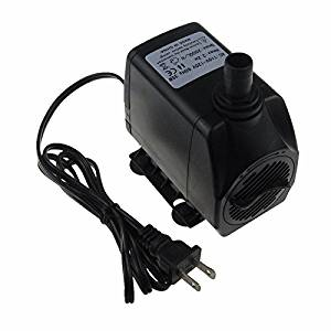 2000(L/H) Submersible Water Pump For Aquarium Hydroponics with Lift 2.2M Power Cord
