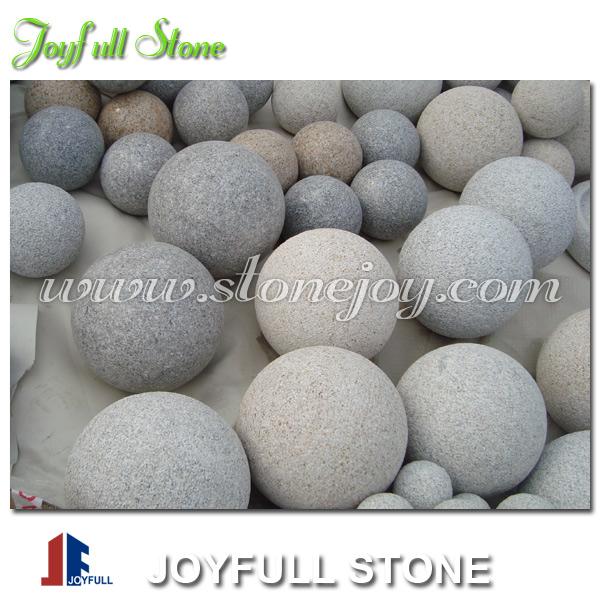 Palla di pietra ornamentale sfere granito decorativi