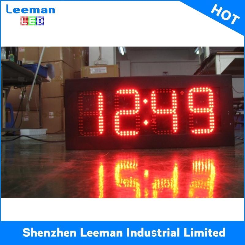 time clock with speaker and radio led driving lights lantern