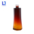 Brown gradient luxury glass jar cosmetic packaging waist slim shape empty cosmetic bottle elegant cosmetic bottles and jars