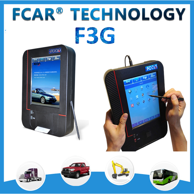 Fcar F3-G original car and trucks auto diagnostic tools, all passenger and commercial vehicles, diagnosis computer