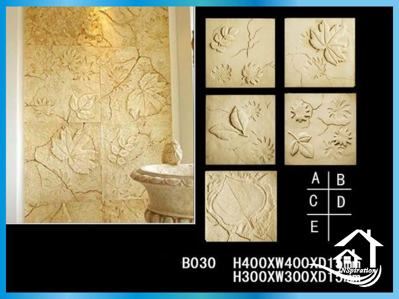 Stone Textured Grc Wall Panel