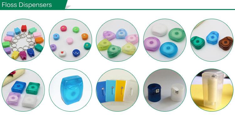 Migliore Vendita di Prodotti di Plastica Individuale Seta Bulk Orale Filo Interdentale pick produzione