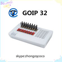 GoIP-32 is a 32 SIM Card Speech quality ensured by QoS at the Ethernet and IP layers and comprehensive jitter buffer