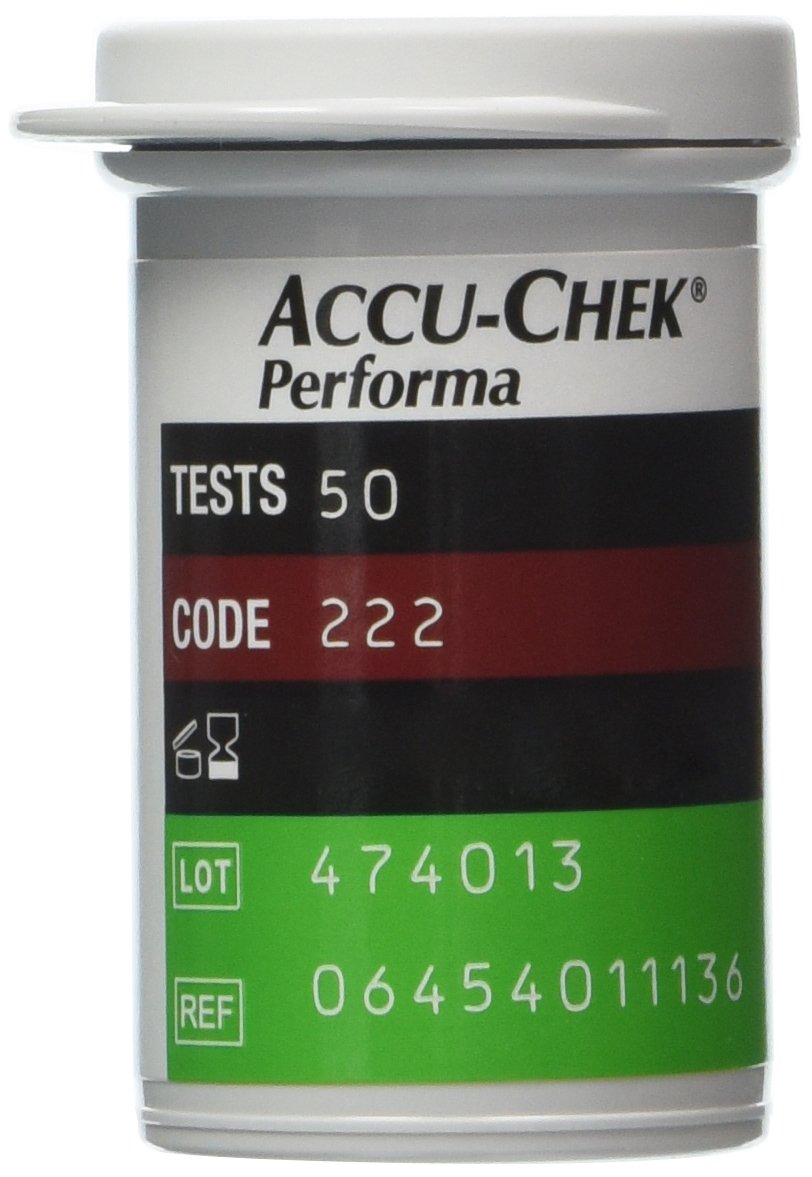 Cheap Accu Chek Glucose Test Strips Find Strip Check Active Roche Get Quotations 50 Performa Accuchek Nano Diabetic Sealed Box New