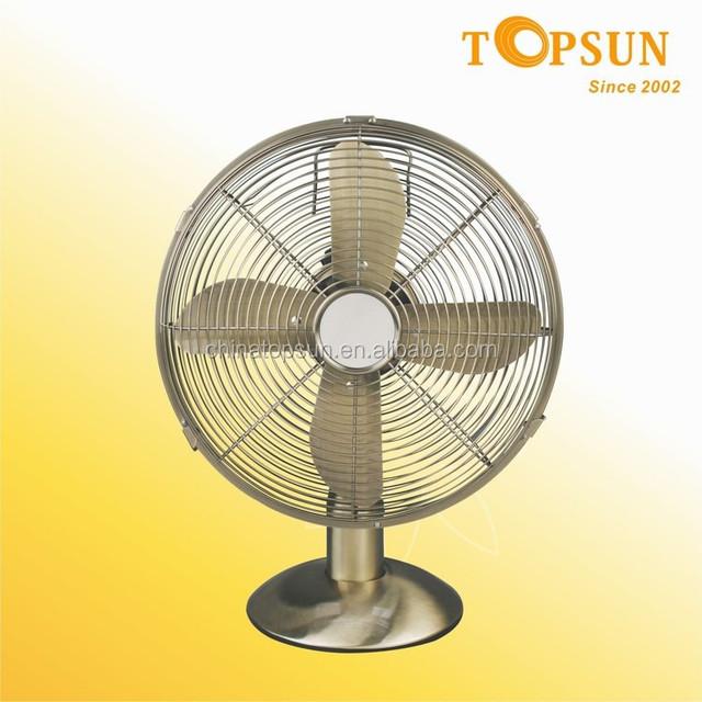 Foshan Fan OEM Factory,12 Inch Bronze Table Fan,30cm Antique Fan