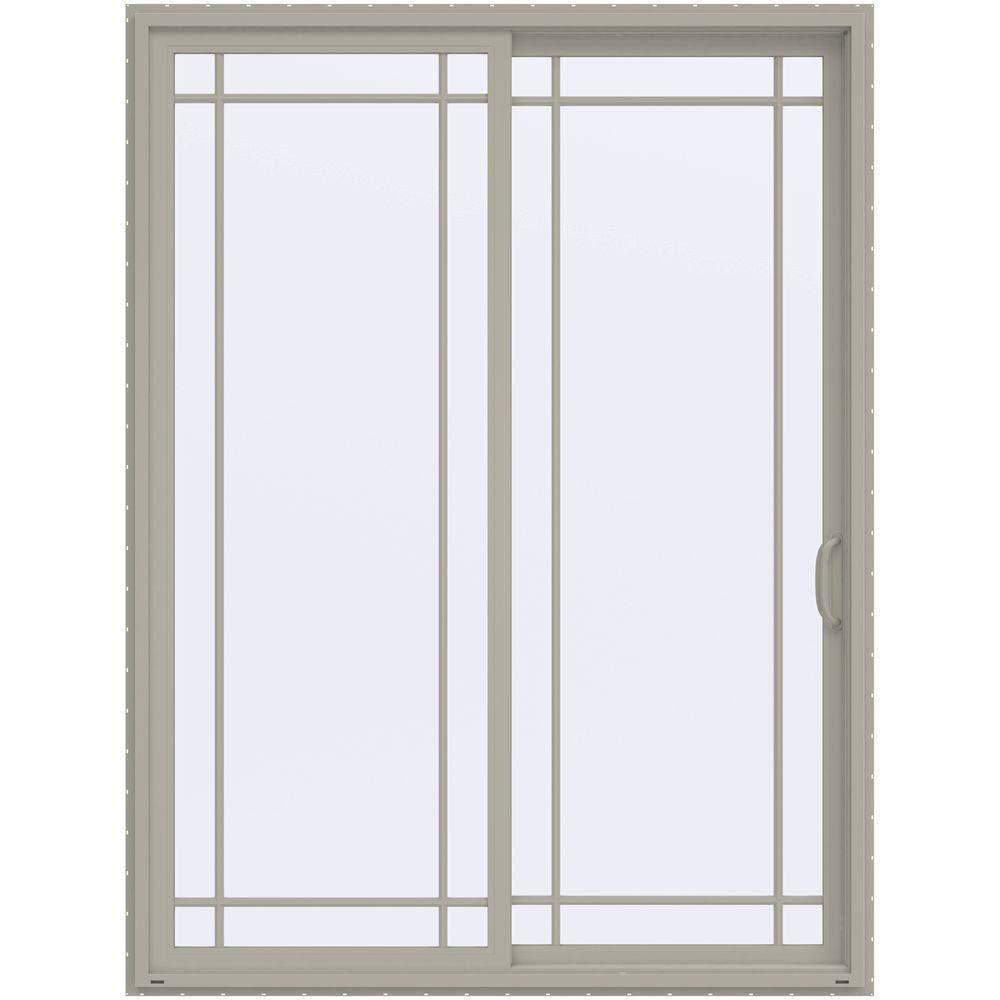 Light Oak UPVC Patio Door Styles