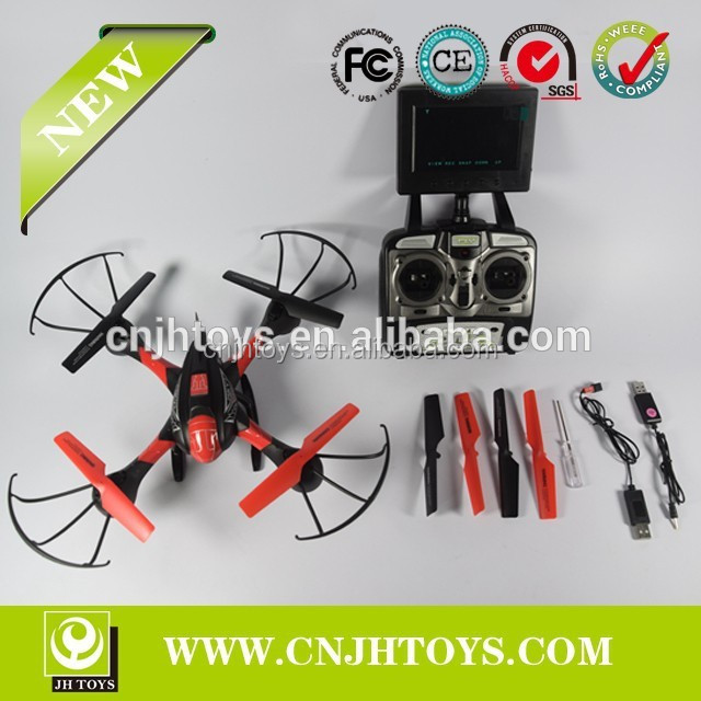 4CH 5.8G FPV RC Quadcopter with 0.3MP Camera Real-time Transfer SKY Hawkeye 1315S CF Headless mode One PressAutomatic Return
