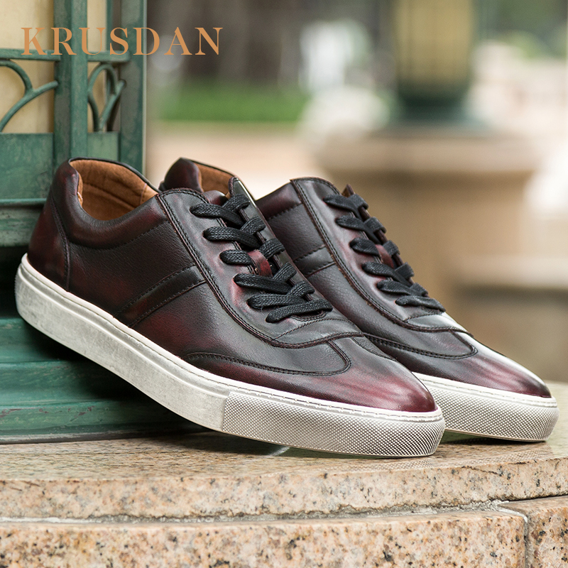 Custom casual shoes sneaker best platform leather Rg4rTRq