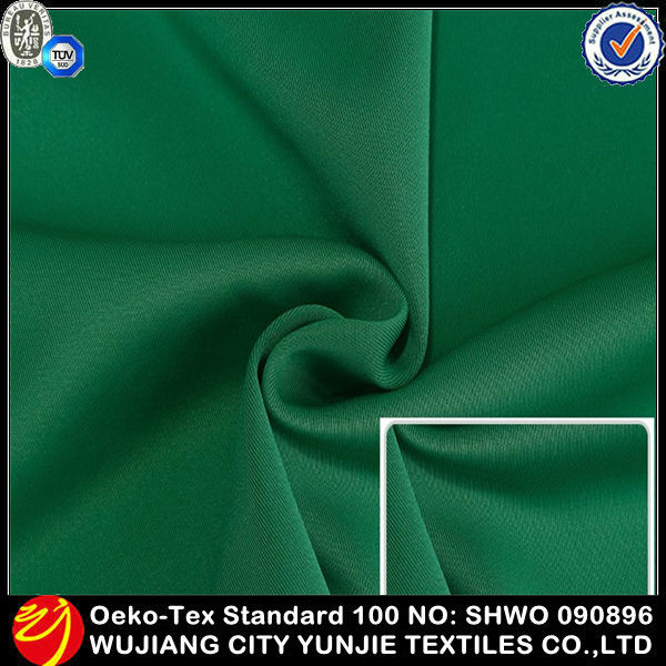 Slinky Polyester Weft Thick Knit Fabric