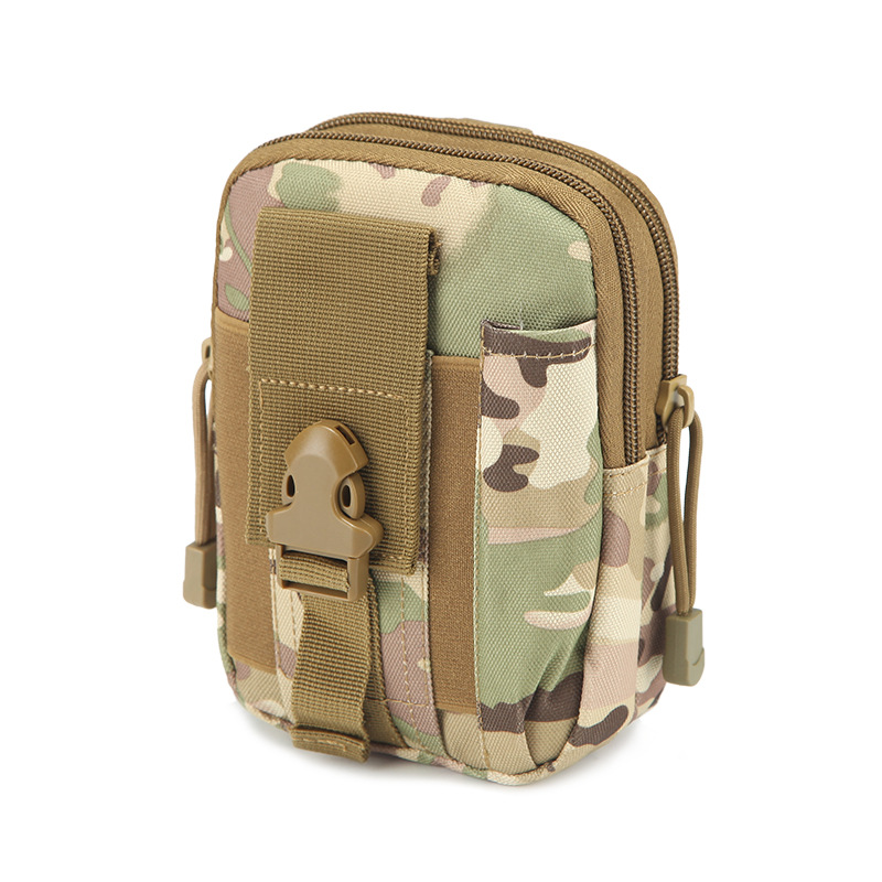 Tactical Running Camouflage Jogging Camping Waist Bag Waterproof with Phone Out