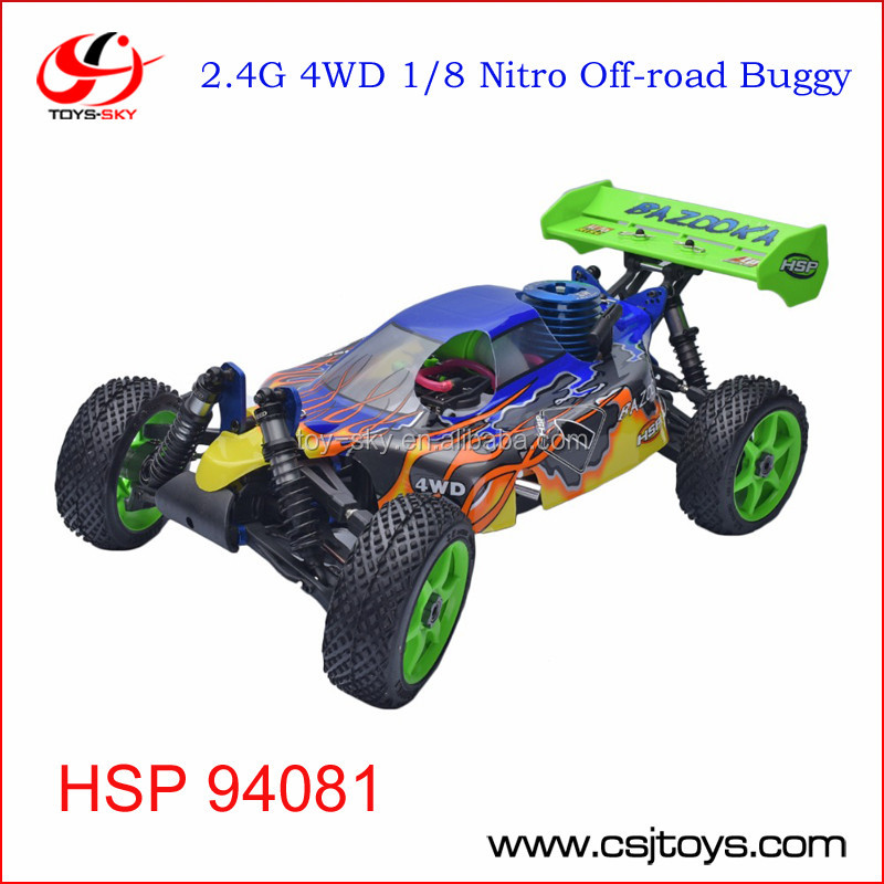 HSP 94081 4wd 1/8 Off Road Nitro Gas Buggy