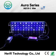 Chinese Remote Control Dimmable thunder storm led aquarium light for coral reef