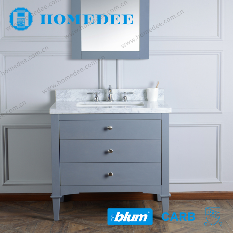 homedee cheap wooden bathroom vanity furniture