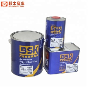 China Hot Sale Epoxy Primer Series Products 2k Car Spray Epoxy Paint For  Car Refinish