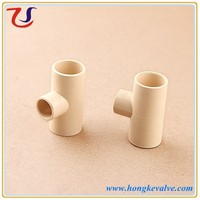 3 way pipe fitting cpvc tubes