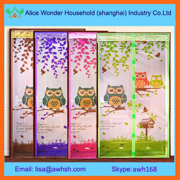 Pantalla magn tica cortina de puerta corredera pantallas for Mosquitera magnetica puerta