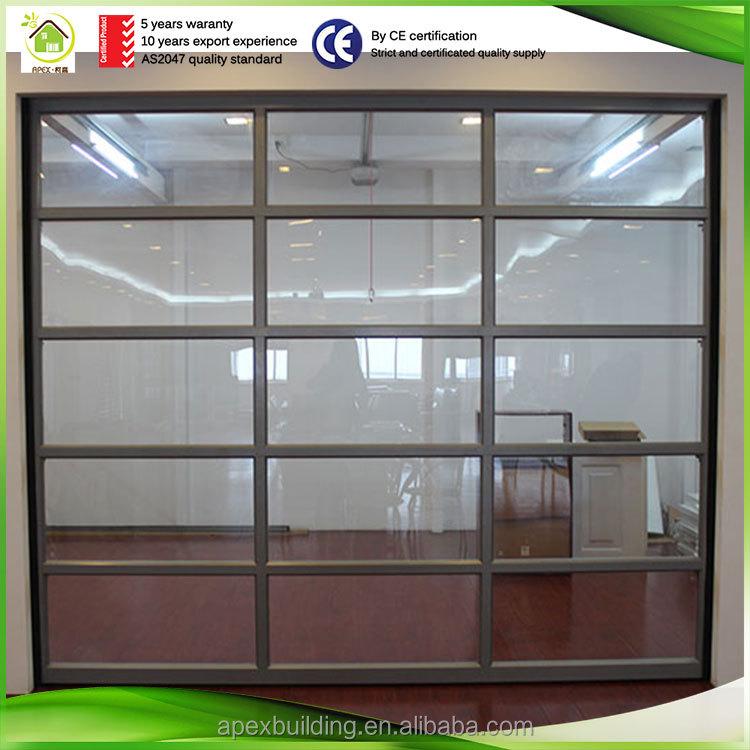 Glass Garage Door Panels Sales Automatic Glass Garage Door Buy