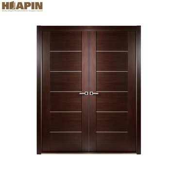 Modern Double Wood Door Main Entrance Wooden Doors, View main ...