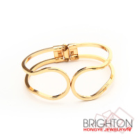 Gold Plated Cheap Boho Hinge Bracelets BT6-7610A-2750