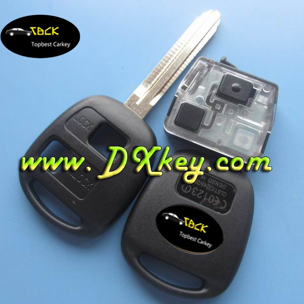 Good price 3 button car remote key 433 Mhz,4D67 chip for Toyota key toyota smart key remote
