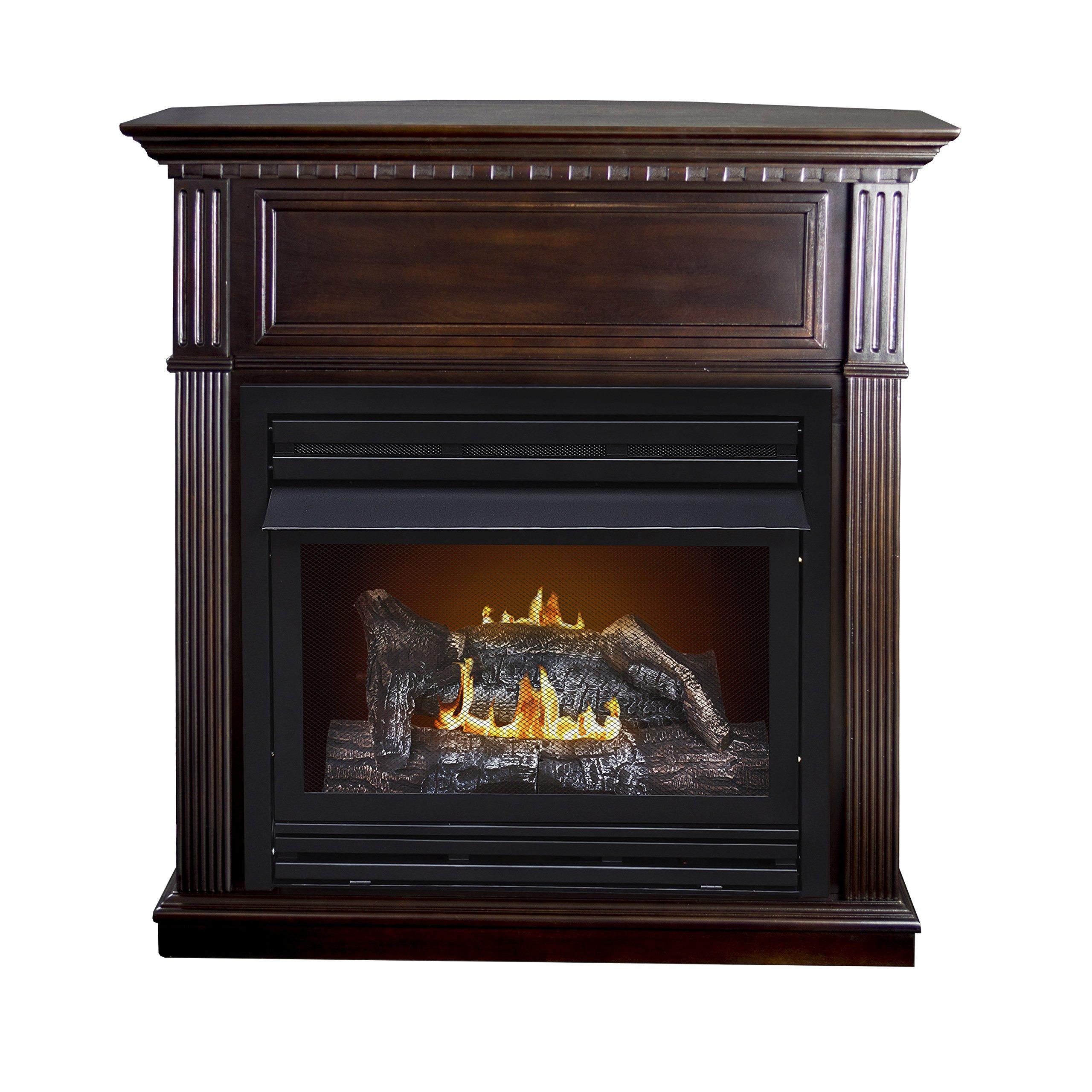 Cheap Pleasant Hearth Vent Free Gas Fireplace find Pleasant Hearth