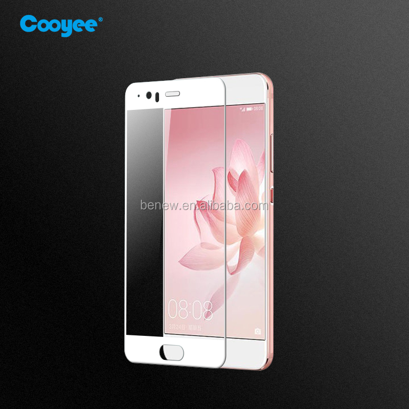 Mobile Phone screen protector! 9H 3D Tempered Glass Screen Protective For Huawei P10 plus