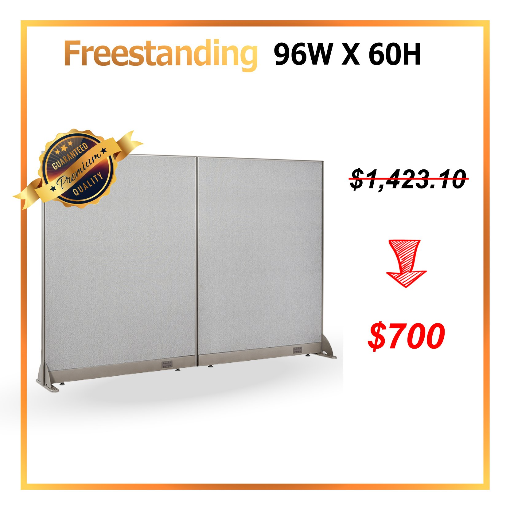 Cheap Restaurant Wall Divider Find Deals On Electrical Wiring Diagrams Get Quotations January Special Gof Office Freestanding Partition Room Panel