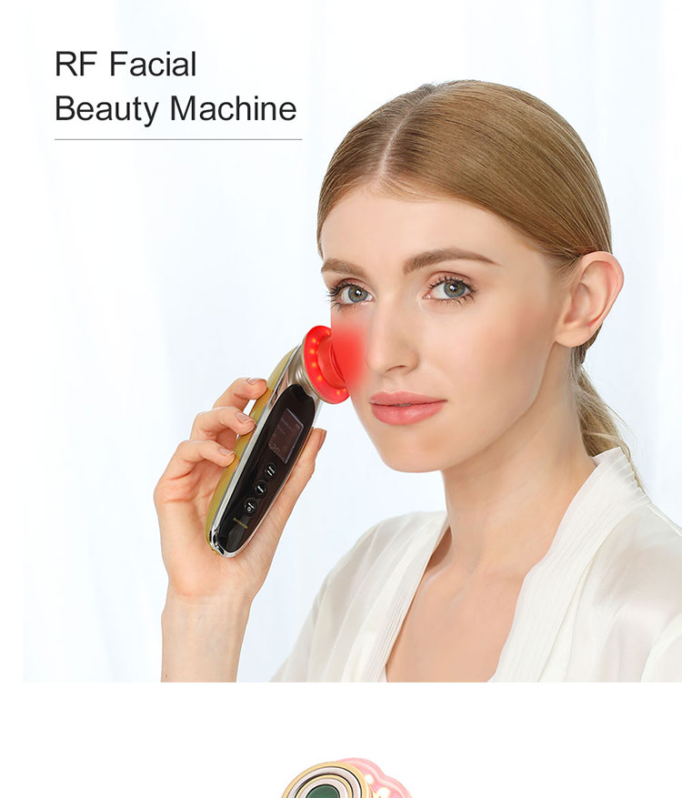rf portable radiofrequency beauty equipment home use mini device machine face lifting
