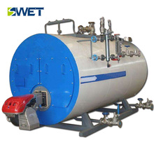 WNS series Full-automatic oil gas fired single barrel burner steam boiler