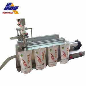 Juice washing filling capping machine/spout pouch juice filling machine/stand-up bag filling machine