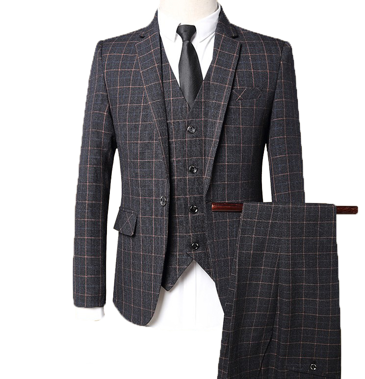 2019 Classic three piece suits design wedding business hotel office men suits фото