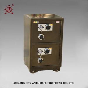 double door mechanical lock old safes