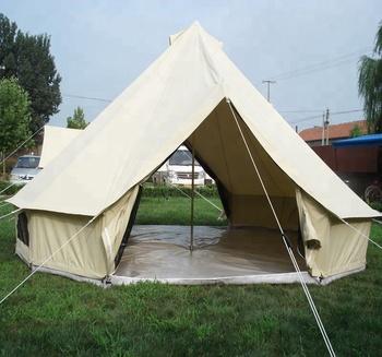 Luxury double door bell tent lotus safari tipi tent with awning & Luxury Double Door Bell Tent Lotus Safari Tipi Tent With Awning ...