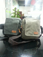 Outdoor fashion brand canvas shoulder bags