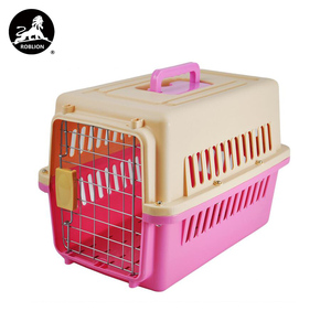 RoblionPet Promotion Portable Consign Pet Carrier Airline Approved, Wholesale Safe Box Pet Carrier
