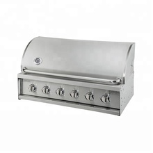 CE Approval Vertical Panel 6burners BBQ Gas Grill Heads A316S