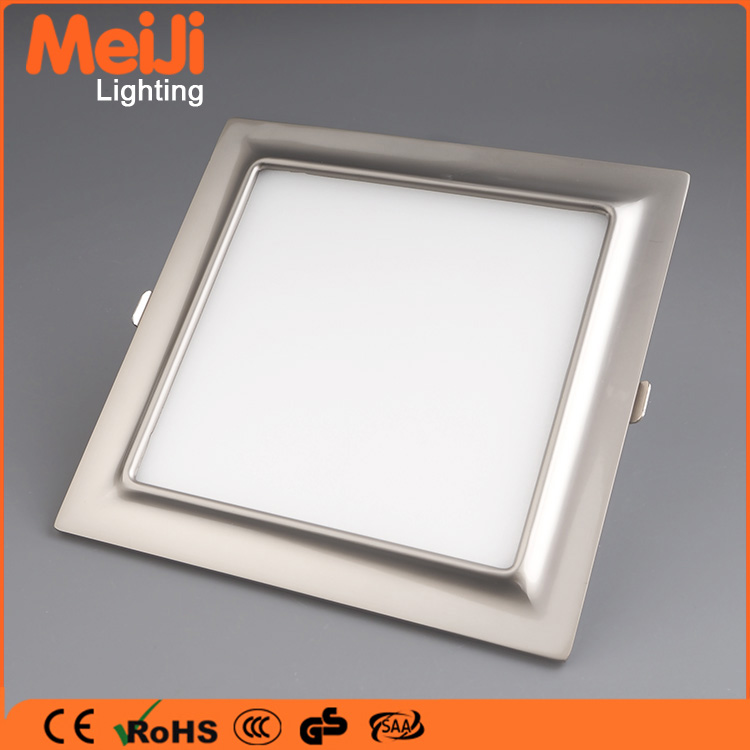 CE RoHS approvel 16W square smd commercial adjustable 600x600 led panel light