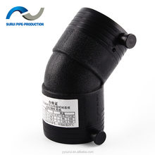 HDPE electrofusion fitting Electrofusion pipe fittings HDPE 45 degree elbow