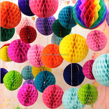 2018 Super Large paper honeycomb party decoration products