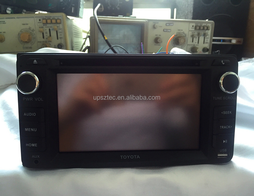 Cheap Price Hot Sale Universal <strong>Car</strong> DVD Player for <strong>TOYOTA</strong> COROLLA with Rear View,Radio Turner