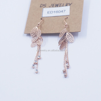 Fashion Diamond Gold Bali Jhumka Earrings Designs Jewelry Design
