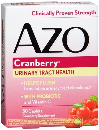 AZO Cranberry Tablets 50 ea(PACK OF 2)
