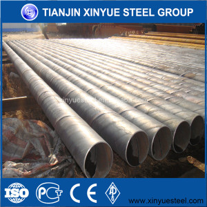 astm a36 oil gas pipeline sch40 ssaw steel pipe for construction